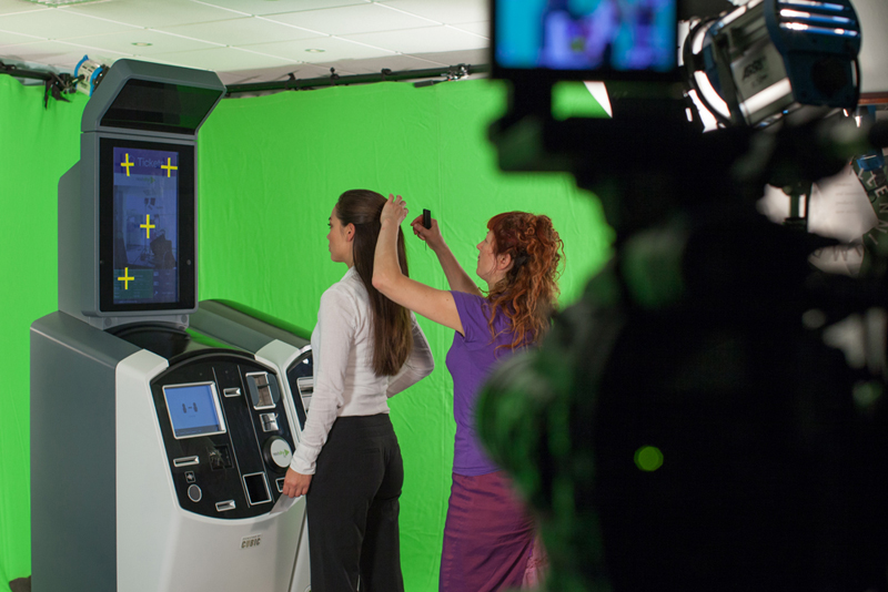 Greenscreen Filming