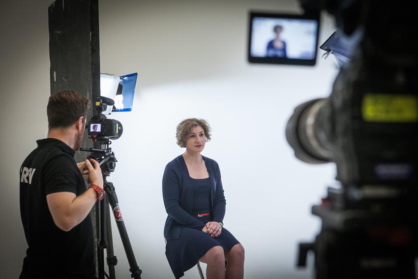 Studio style interviews